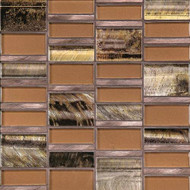 Daltile Tiger Eye TE31 Siberian Copper Mosaic