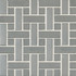 Daltile Metallica Brushed Stainless Steel Random Mosaic