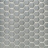 Daltile Metallica Brushed Stainless Steel Hexagon Mosaic