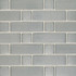 Daltile Metallica Brushed Stainless Steel Large Basketweave