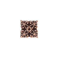 Daltile Massalia Pewter Tile Frieze Button