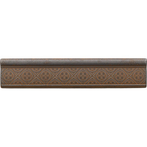 Daltile Castle Metals Wrought Iron Clover Ogee