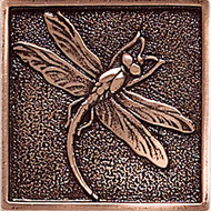 Daltile Massalia Copper Tile Dragon Fly Dot