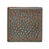 "Daltile Castle Metals Aged Copper Hammered Dot 2"" x 2"""