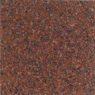 "Interceramic Granite Ruby Red Polished 12"" X 12"""