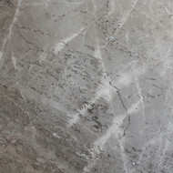 "Interceramic Marble Astoria Gray Polished 12"" x 12"""