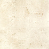 "Interceramic Marble Crema Marfil Standard Polished 24"" x 24"""