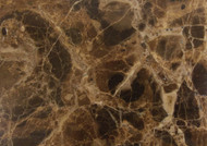 "Interceramic Marble Dark Emperador Polished 12"" x 24"""