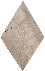 Interceramic Mexican Travertine Chocolate Bisello