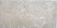 "Interceramic Mexican Travertine Crema Imperial Chiseled 8"" X 16"""