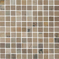 Interceramic Tumbled Slate Autumn Mist Mosaic
