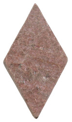 "Interceramic Tumbled Slate Copper Quartzite Rhombus 3"" x 6"""