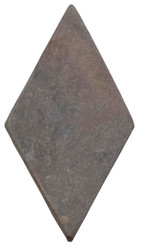"Interceramic Tumbled Slate Primrose Rhombus 3"" x 6"""