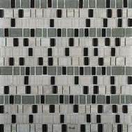 Emser Tile Unique Ode Glass Stone Mosaic
