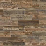 "Marazzi Preservation Petrified Gray 9"" x 36"""