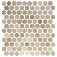 Eleganza Tile Onix Hex Blend Taupe Malla