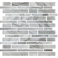 American Olean Refluence Glass Stream Linear Mosaic