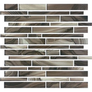 American Olean Refluence Glass Grotto Linear Mosaic