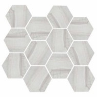 "Eleganza Tile Burlington Light Grey 11.69""x 12.40"" Hex"