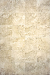 "Interceramic Travertino Royale Ivory 16"" x 16"""