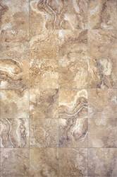 "Interceramic Travertino Royale Noce 16"" x 24"""