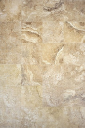 "Interceramic Travertino Royale Walnut 16"" x 24"""
