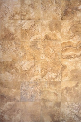 "Interceramic Travertino Royale Gold Mosaic 16"" x 16"""