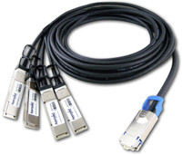 DATA CENTER OPTICS  CAB-QSFP-4XQSFP-DAC-3M