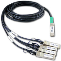 DATA CENTER OPTICS  CAB-QSFP-4SFP10G-DACP-3M