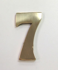 "2"" AOD Brass Number #7"