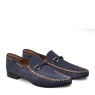 Mezlan Marcello Blue Loafers Shoes (MARCELLO-BLUE-7272)