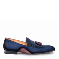 Mezlan Plazza Blue Loafer Shoes