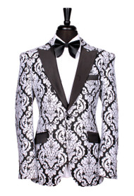 Travis Alexander Bespoke Black White Jacket