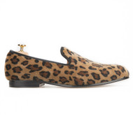 Travis Alexander Leopard Print Loafer Shoes