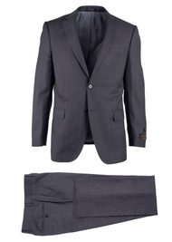 TIGLIO GRAY BIRDSEYE NOVELLO MODERN FIT LUXE SUIT