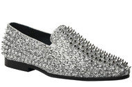 Luxor Silver Studs Slip-on Loafer