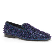 Luxor Navy Studs Slip-on Loafer (LUXOR-NAVY)