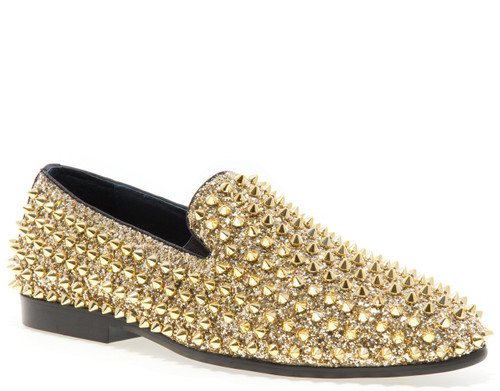 Luxor Gold Studs Slip-on Loafer (LUXOR-GOLD)