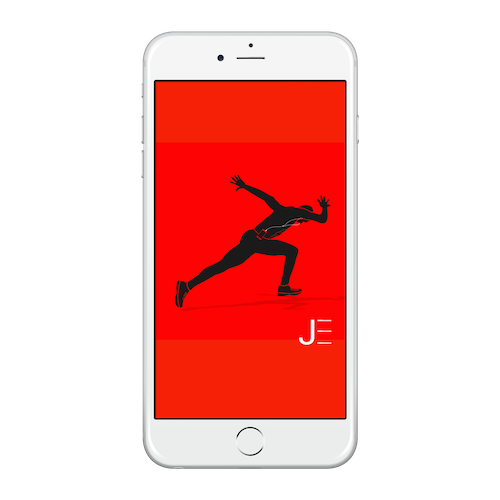 Jarret • Face of SlimClip • Graphic Image Download iPhone 6/6S