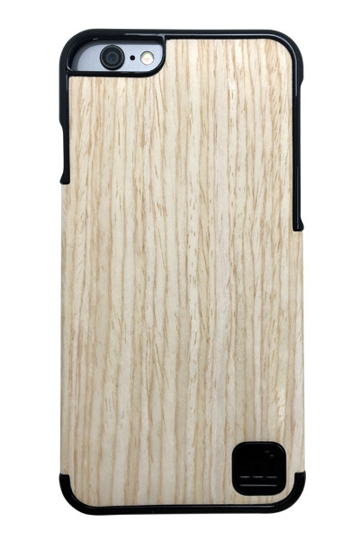 LuxBox Case Ocean Black for iPhone 6 & iPhone 6S • Real 100% Oak Wood Veneer and Black Lacquer