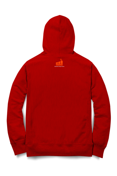 JE SlimClip Case Hoodie • Red
