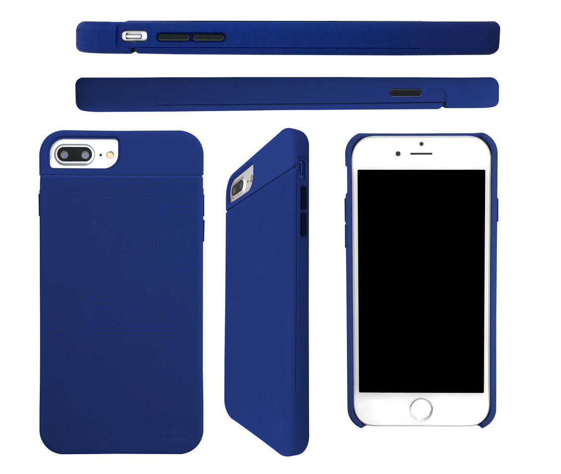 SlimClip Case V4 • CONFIDENCE (Blue) for iPhone 7 & iPhone 6/6S