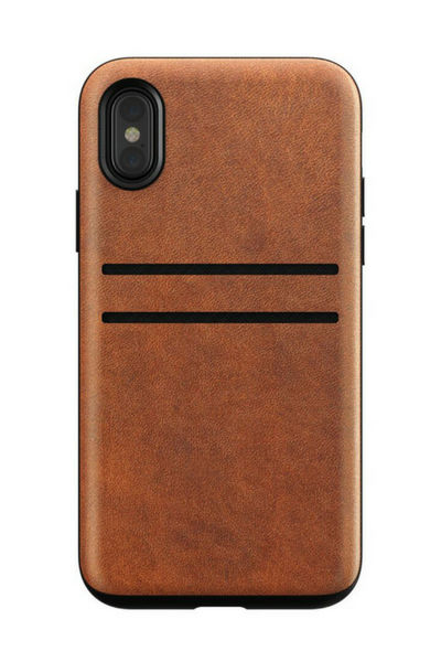 Horween Leather Wallet Case for iPhone X