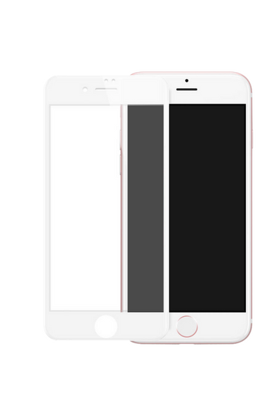 theWTFactory ScreenGuard for iPhone 6/6S+ PLUS - WHITE Contoured screen cover that is contoured the the curved edge of the iPhone screen