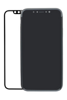 SlimClip Case V5 SPACE (Black) for iPhone X with ScreenGuard (Black) for iPhone X