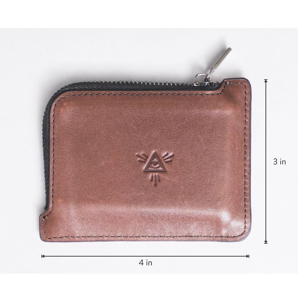 Undivided Wallet  Not too wide or too narrow - it's perfectly proportioned to easily fit into your pocket but also not fall right out of your pocket