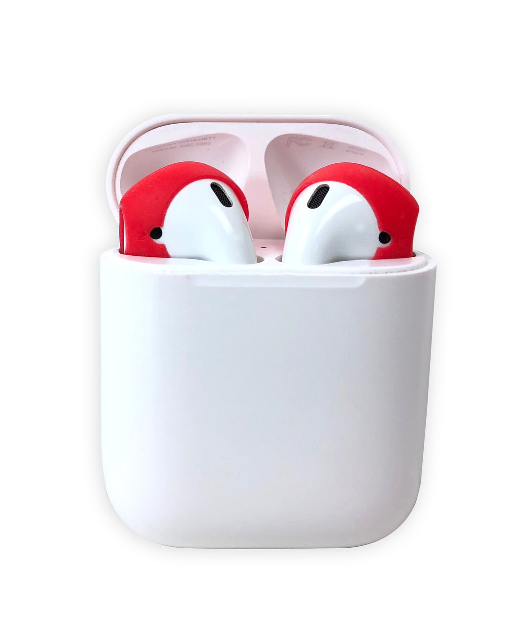 AERZ - AirPods & Apple Earbuds Skins Covers  * AERZ dramatically improves the audio quality of Apple AirPods and Apple Earbuds 2.0 by air sealing AirPods and Earbuds to prevent the escape of sound waves; thereby dramatically improving audio quality