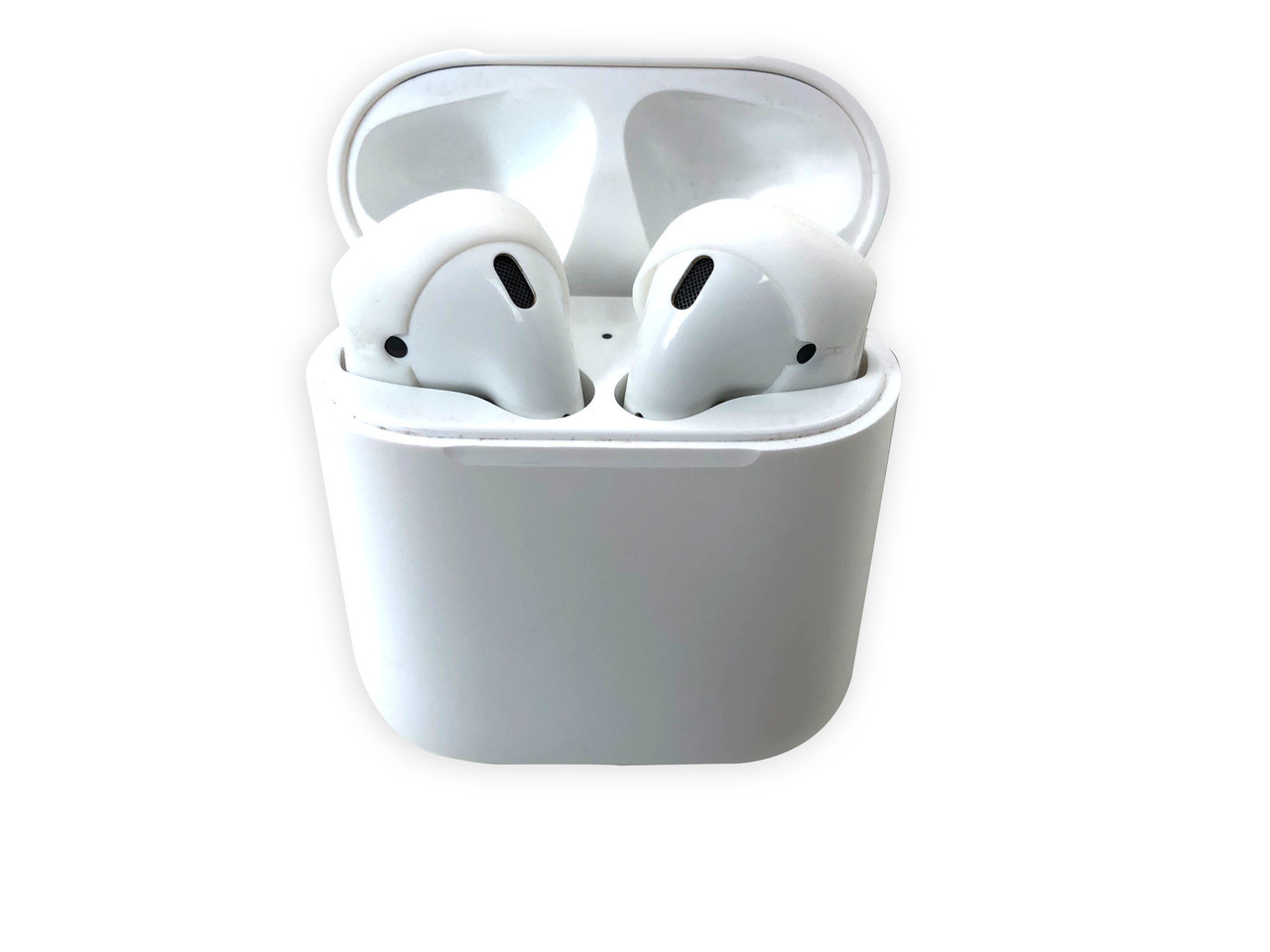 AERZ - AirPods & Apple Earbuds Skins | GHOST (Clear)  * AERZ is a simple comfortable AirPod and Apple Earbud 2.0 solution that improves the sound quality and comfort of your Apple AirPods and Apple Earbud 2.0     * Soft high quality silicone cover skins improve the comfort of Apple AirPods and Apple Earbuds 2.0 allowing you to wear your AirPods or Earbuds for hours on end without discomfort     * AERZ dramatically improves the audio quality of Apple AirPods and Apple Earbuds 2.0 by air sealing AirPods and Earbuds to prevent the escape of sound waves; thereby dramatically improving audio quality * Ultra-thin but Durable: AERZ Don't make your AirPods or earbuds too big for your ear canals.  It's the soft silicone surface that seals the audio quality in and makes your AirPods and Earbuds ultra comfortable