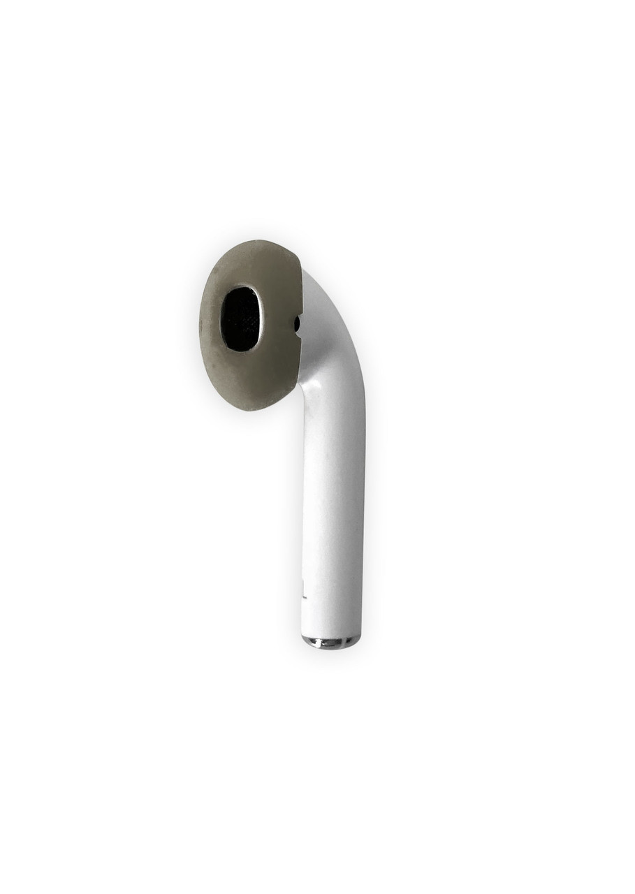 AirPods & Apple Earbuds Skins | STEALTH (Smoke)  * AERZ is a simple comfortable AirPod and Apple Earbud 2.0 solution that improves the sound quality and comfort of your Apple AirPods and Apple Earbud 2.0     * Soft high quality silicone cover skins improve the comfort of Apple AirPods and Apple Earbuds 2.0 allowing you to wear your AirPods or Earbuds for hours on end without discomfort     * AERZ dramatically improves the audio quality of Apple AirPods and Apple Earbuds 2.0 by air sealing AirPods and Earbuds to prevent the escape of sound waves; thereby dramatically improving audio quality * Ultra-thin but Durable: AERZ Don't make your AirPods or earbuds too big for your ear canals.  It's the soft silicone surface that seals the audio quality in and makes your AirPods and Earbuds ultra comfortable