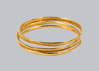 Classic Bangle Bracelet Set